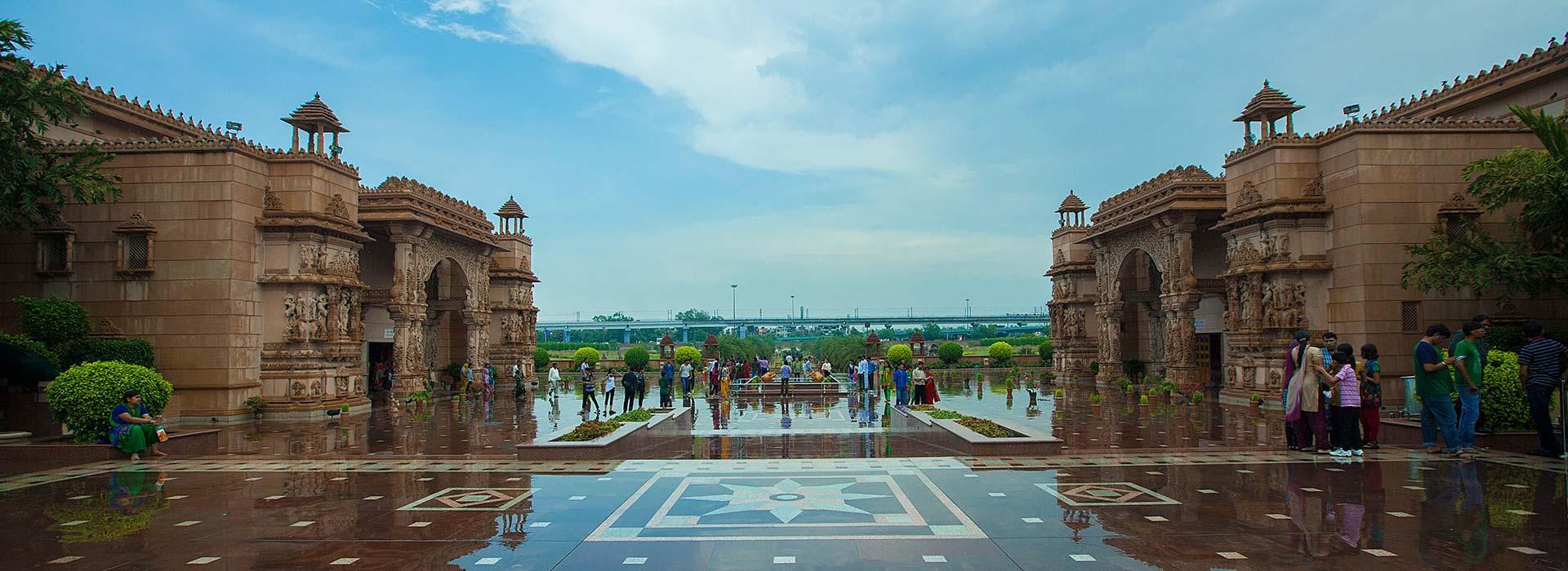 Swaminarayan Akshardham - Swagatam