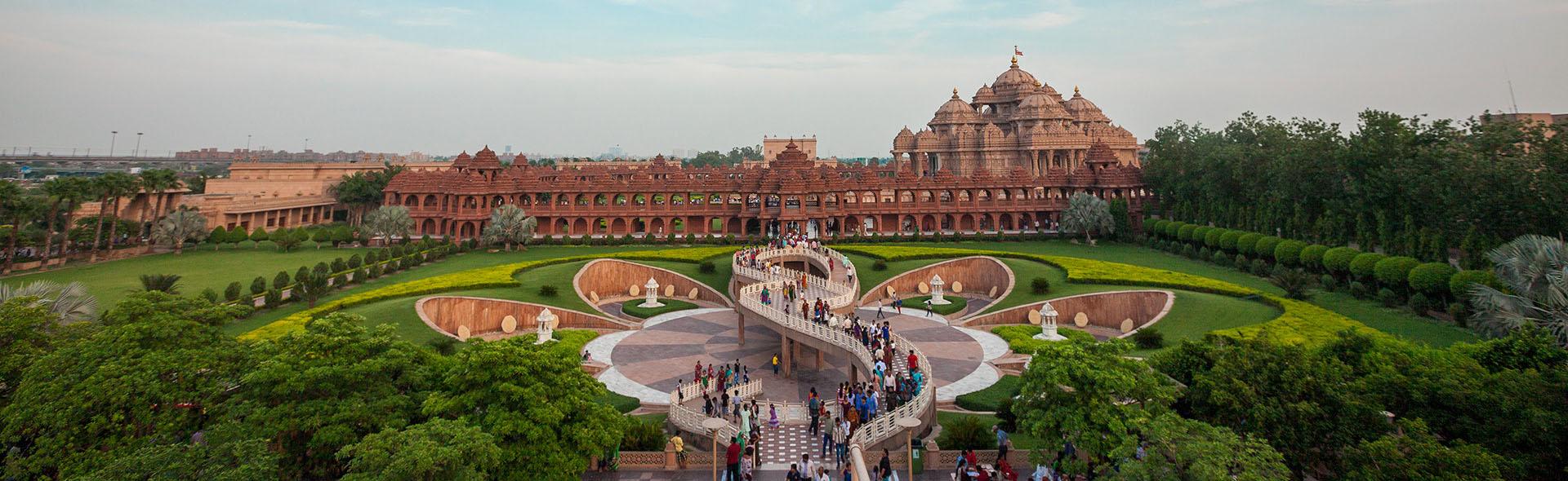 Swaminarayan Akshardham: Yogi Rudaykamal Garden