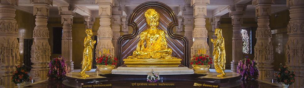 Swaminarayan Akshardham, Gujarat: Garbha Gruh