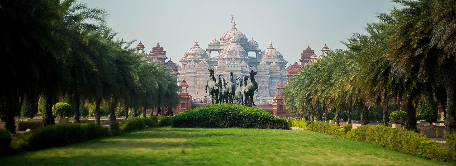 Swaminarayan Akshardham: Cultural Gardens