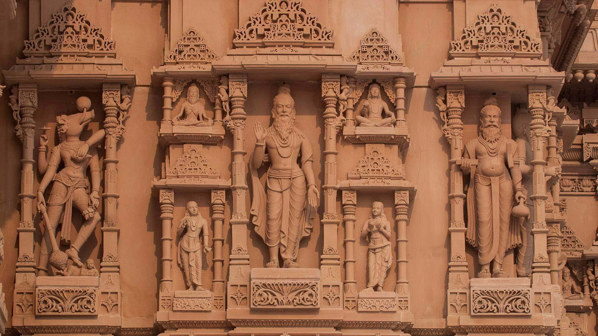 Carvings – Swaminarayan Akshardham New Delhi